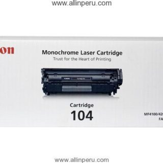 Toner Canon 104 Negro