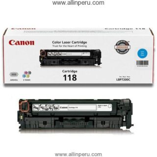 Toner Canon 118C Cyan