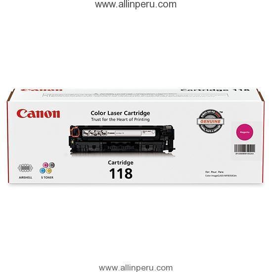Toner Canon 118M Magenta