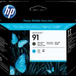 Cabezal HP 91 Black & Cyan C9460A