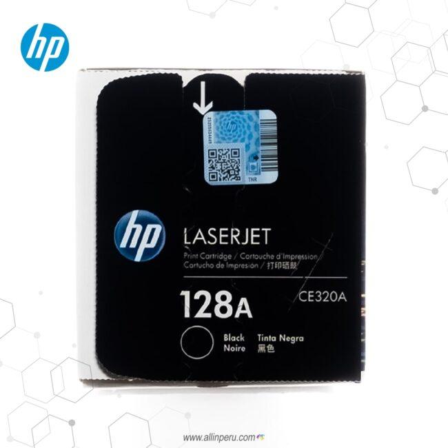 Cartucho de Toner HP 128A Negro CE320A 2,000 Páginas