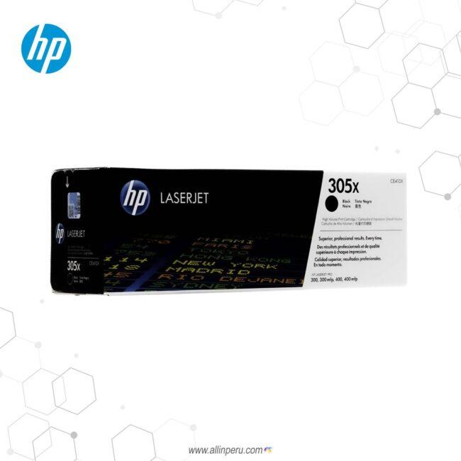 Cartucho de Toner HP 305X Negro CE410X 4,000 Páginas