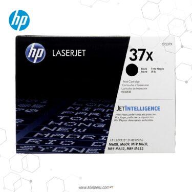 Cartucho de Toner HP 37X Negro CF237X 25,000 Páginas