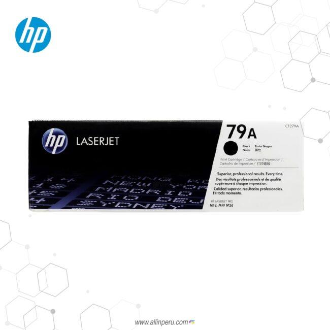 Cartucho de Toner HP 79A Negro CF279A 1,000 Páginas