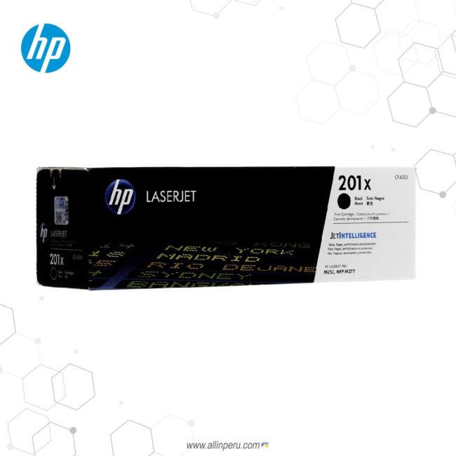 Cartucho de Toner HP 201X Negro CF400X 2.800 Páginas