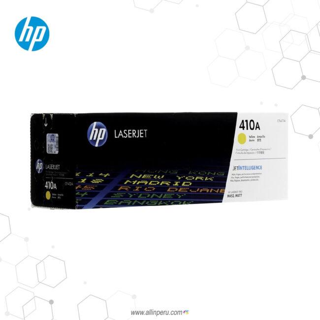 Cartucho de Toner HP 410A Amarillo CF412A 2,300 Páginas