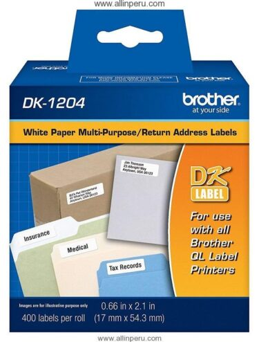 Cinta Brother DK-1204 (400 Etiquetas)
