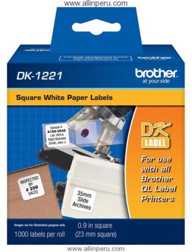 Cinta Brother DK-1221 23 Mm. X 23 Mm.