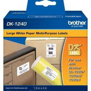 Cinta Brother DK-1240 (600 Etiq)