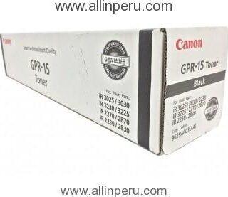 Toner Canon GPR-15 Negro