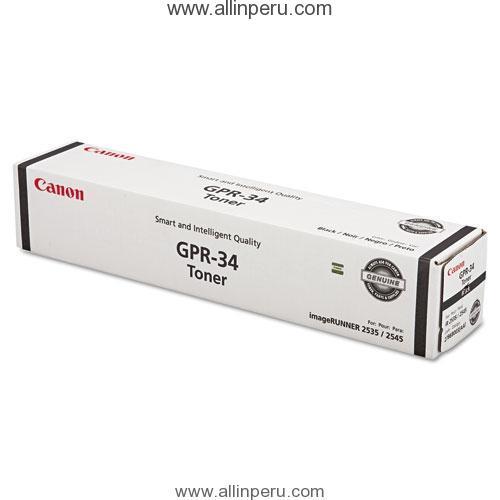 Toner Canon GPR-34 Negro