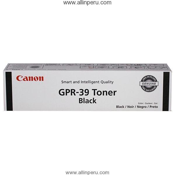 Toner Canon GPR-39 Negro