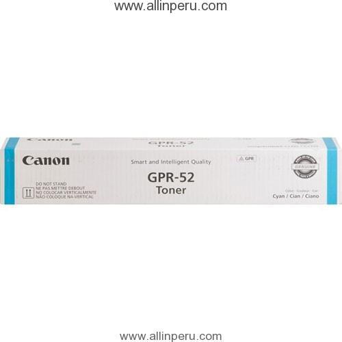 Toner Canon GPR-52C Cyan