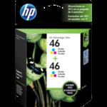 Tinta HP 46 2-Pack Tri-Color M0H59AL 750 Pag..