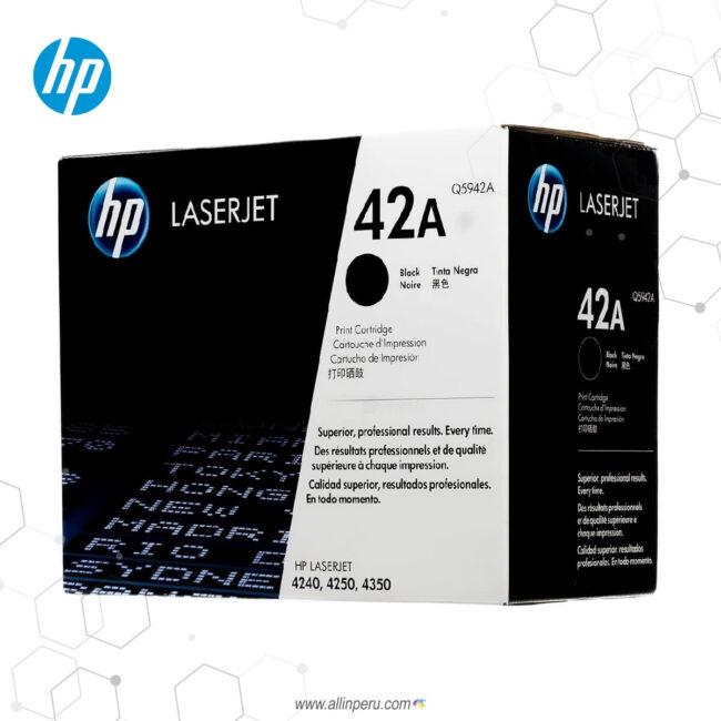 Cartucho de Toner HP 42A Negro Q5942A 1,000 Páginas