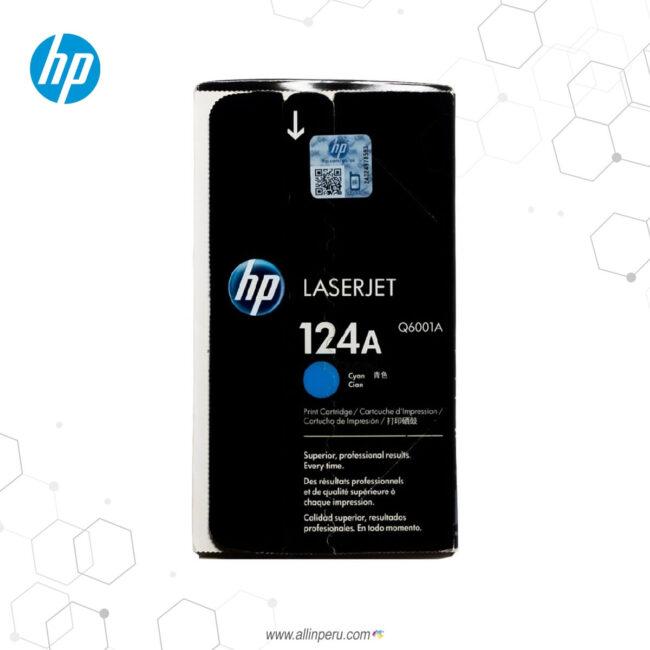 Cartucho de Toner HP 124A Cian Q6001A 2.00 Páginas