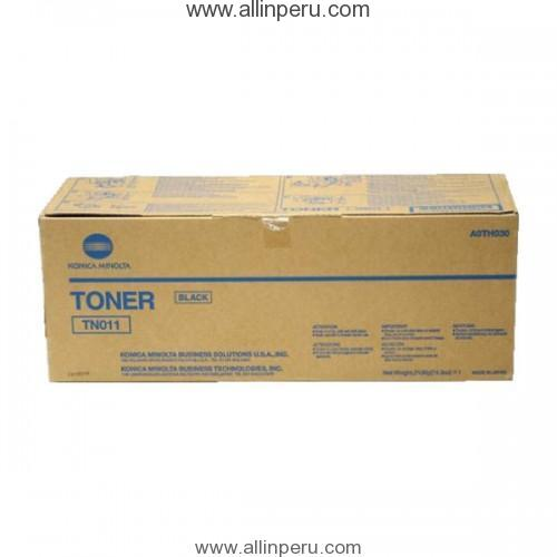 TONER KONICA MINOLTA TN-011 A0TH050 COLOR NEGRO POLIMERIZADO SIMITRI HD