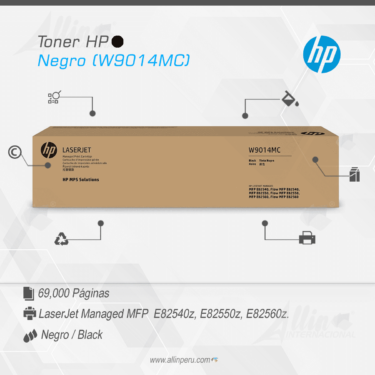 Toner HP Negro (W9014MC)
