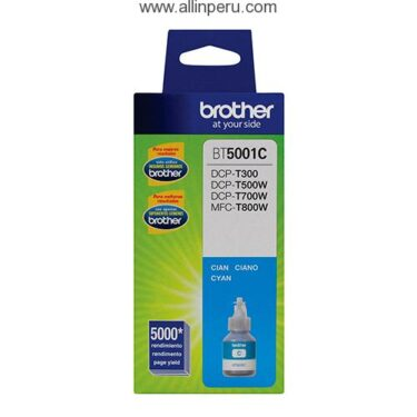 TINTA BROTHER BT-5001C CIAN DCP-T300W/500W/700W