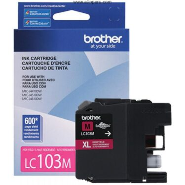 TINTA BROTHER LC-103M MAGENTA MFC-J4510DW 600 PAG
