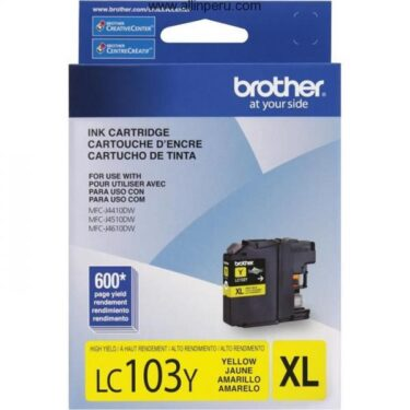 TINTA BROTHER LC-103Y YELLOW MFC-J4510DW 600 PAG