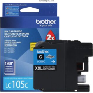 TINTA BROTHER LC-105C CIAN MFC-J4510DW 1200 PAG
