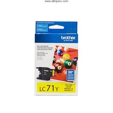 TINTA BROTHER LC-71Y MFC-J430W YELLOW 300PG