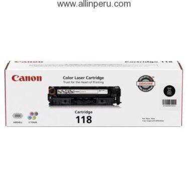 Toner Canon 118BK Negro