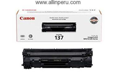 Toner Canon 137 Negro