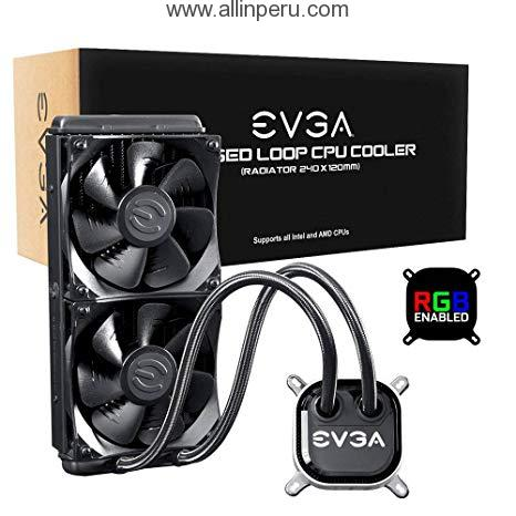 EVGA CLC 240 Bloque de agua/ventilador de refrigeración