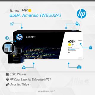 Toner HP 658A Amarillo (W2002A)