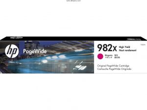Tinta HP 982X Magenta T0B28A 16.000 Páginas