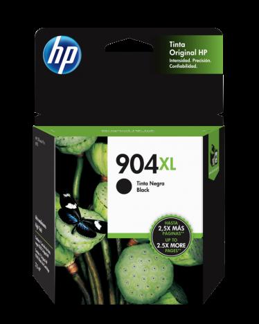 Tinta HP 904XL Negro T6M16AL 825 Páginas