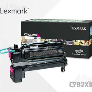 Toner Lexmark C792 Magenta C792X1MG 20.000 Páginas Extra Alto rendimiento