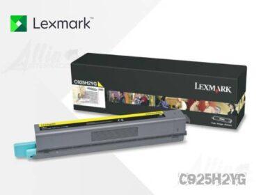 Toner Lexmark C925 Amarillo C925H2YG 7.500 Páginas Alto rendimiento