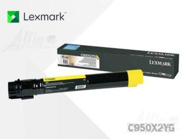 Toner Lexmark C950 Amarillo C950X2YG 22.000 Páginas Alto rendimiento