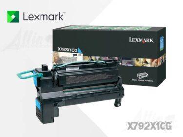 Toner Lexmark X792 Cyan X792X1CG 20.000 Páginas