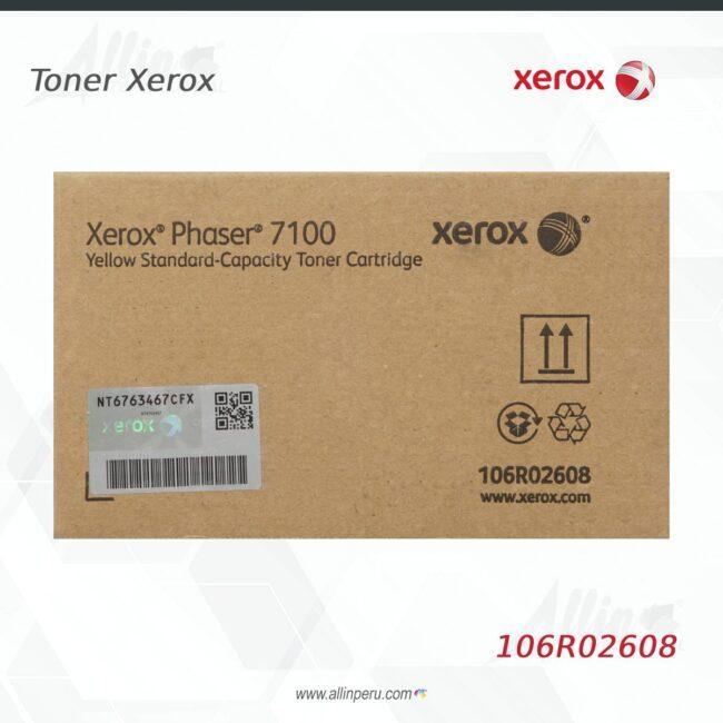 toner xerox 106R02608 amarillo