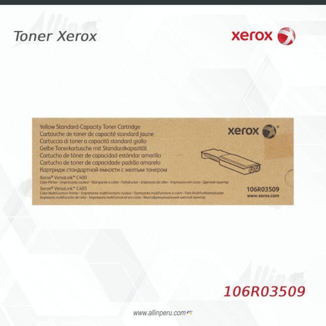 toner xerox 106R03509 amarillo