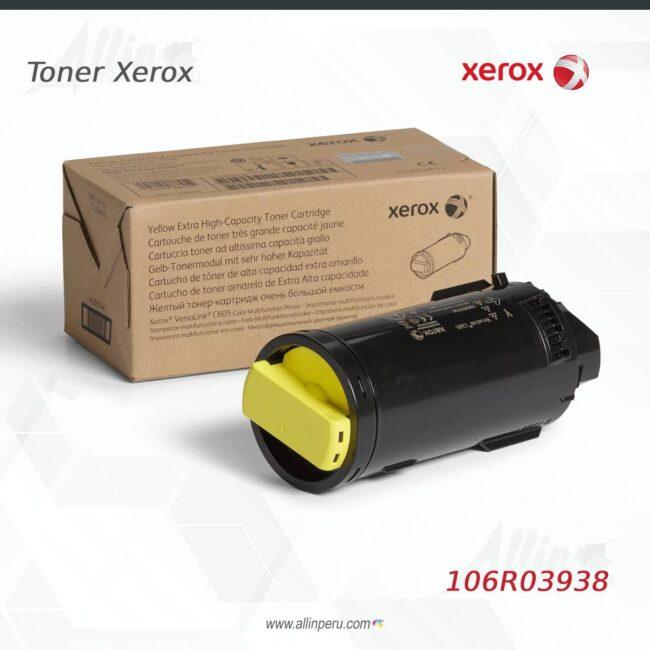 toner xerox 106R03938 amarillo
