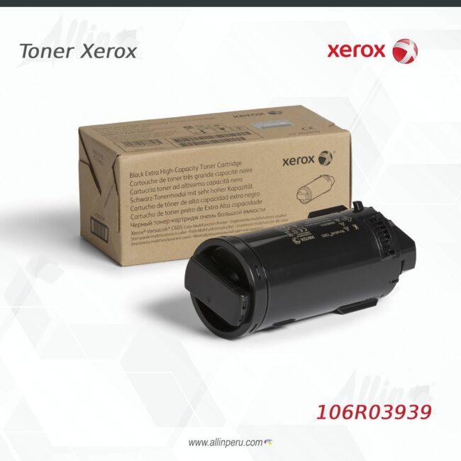 toner xerox 106R03939 negro