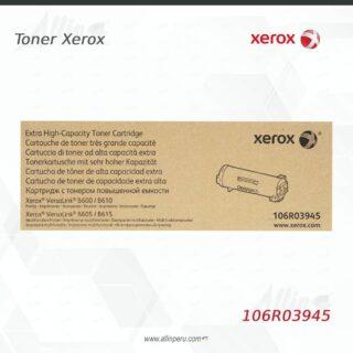 toner xerox 106R03945 negro