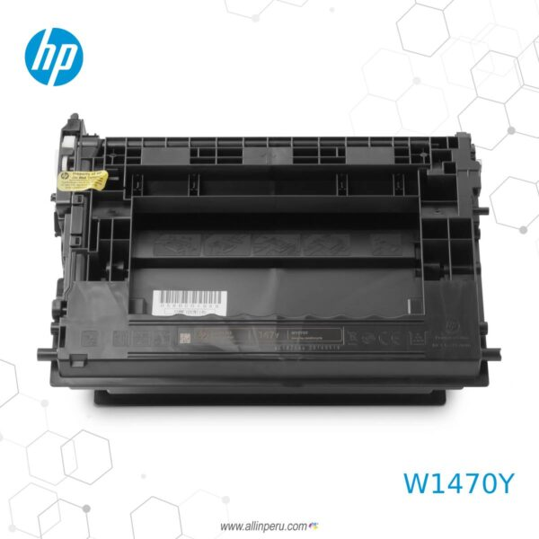 Toner HP 147y Negro W1470y 42