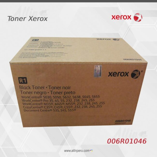 Toner Xerox 006R01046 Negro 64.000 Páginas