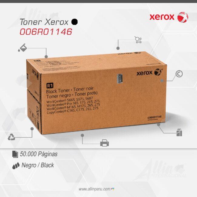 Toner Xerox 006R01146 X2 Negro 50.000 páginas