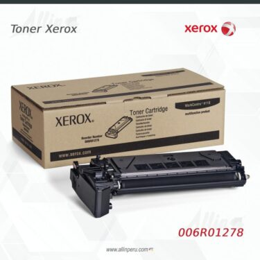 Toner Xerox 006R01278 Negro
