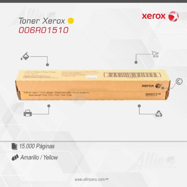 Toner Xerox 006R01510 Amarillo 15.000 páginas