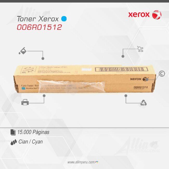 Toner Xerox 006R01512 Cian 15.000 páginas