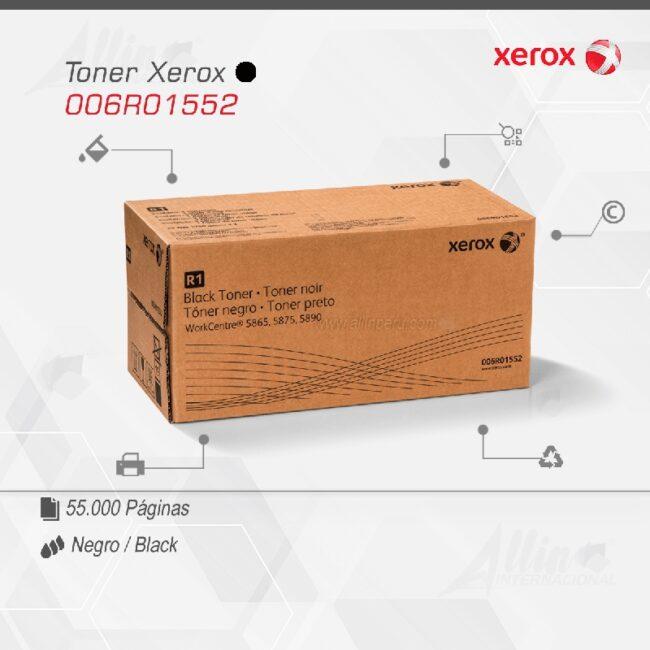 Toner Xerox 006R01552 Negro 110.000 páginas