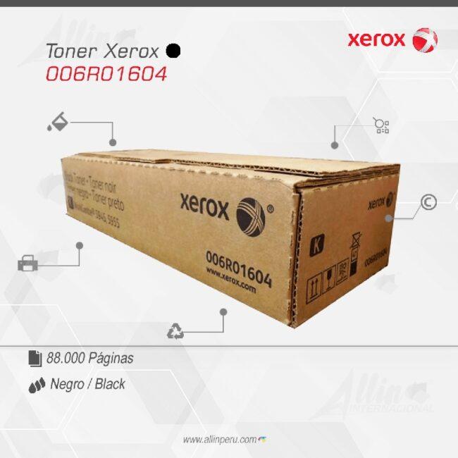 Toner Xerox 006R01604 Negro 88.000 Paginas